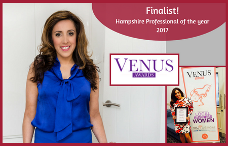 Rita Gupta, Finalist for Professional of the Year 2017, Hampshire Venus Awards