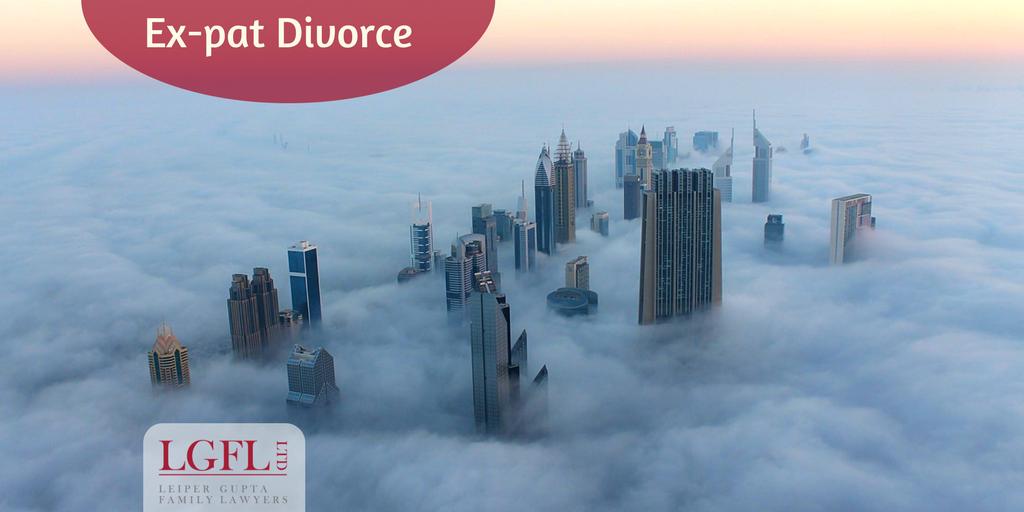 Dubai cityscape ex-pat divorce