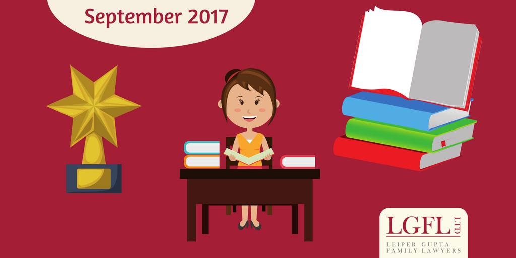 award, teacher and book round up of September blogs