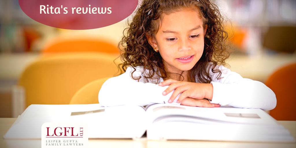 Book reviews, girl reading a book