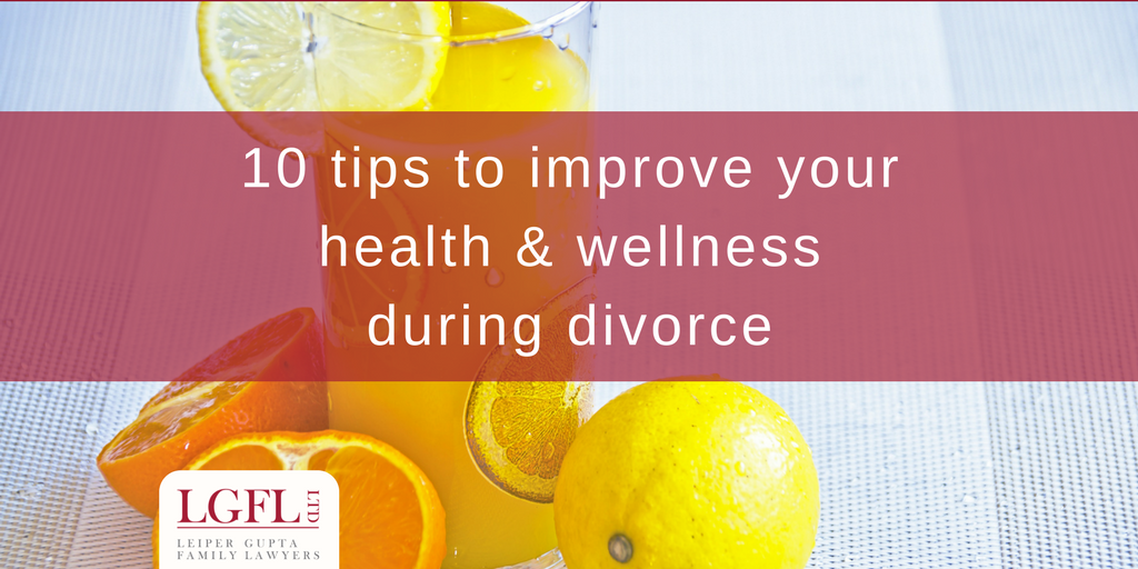 10 tips for health during divorcer