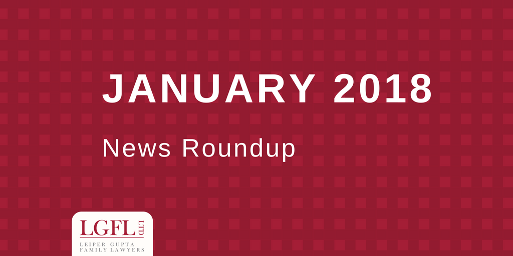 January 2018 LGFL news Roundup