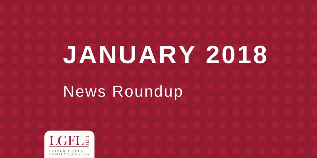 January 2018 LGFL news Roundup