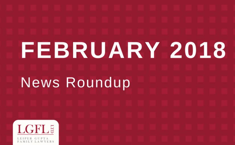 February 2018 LGFL news Roundup