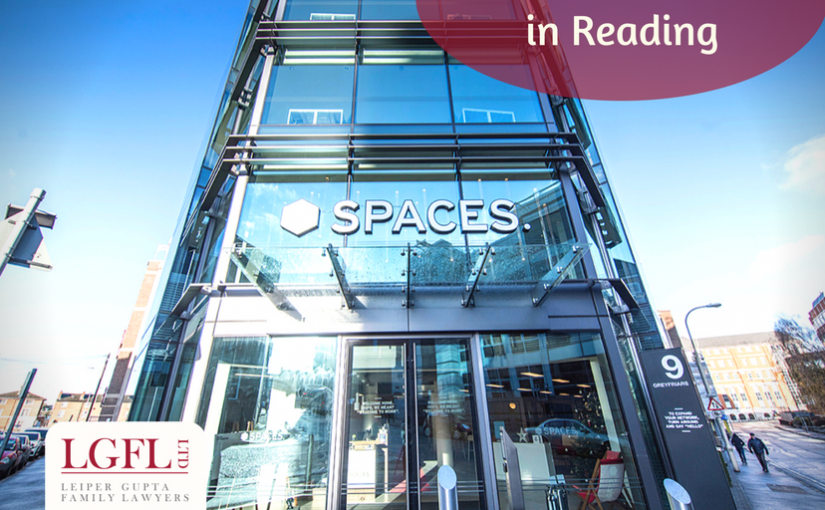 Spaces, Reading - professional legal advice