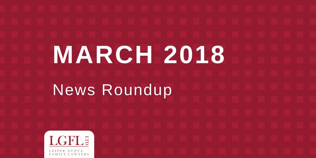 March 2018 LGFL news Roundup