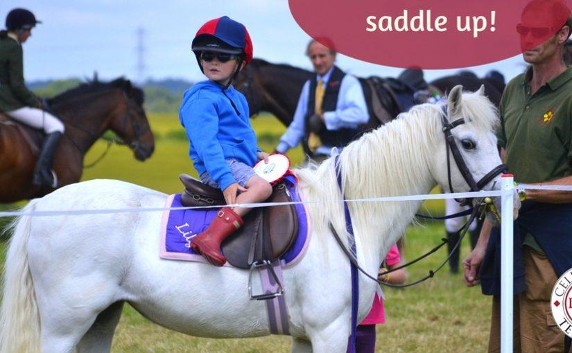 Pony riding charity