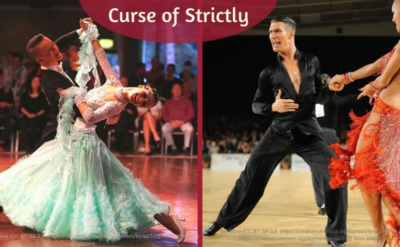 Ballroom dancers - Curse of Strictly
