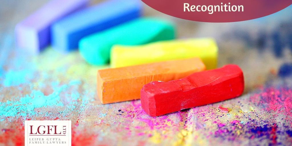 Gender Recognition colours