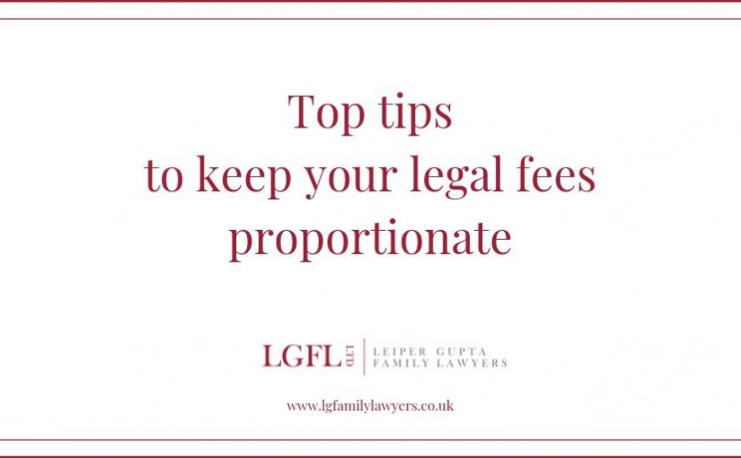 Top tips for legal fees