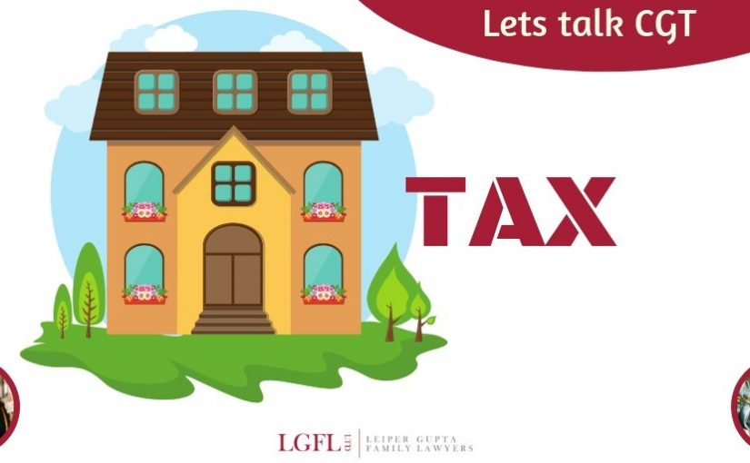 House with TAX in words