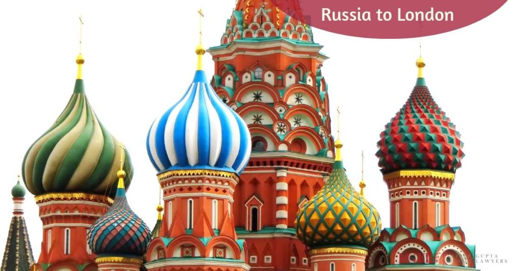 St Basils Russia divorce cases in England