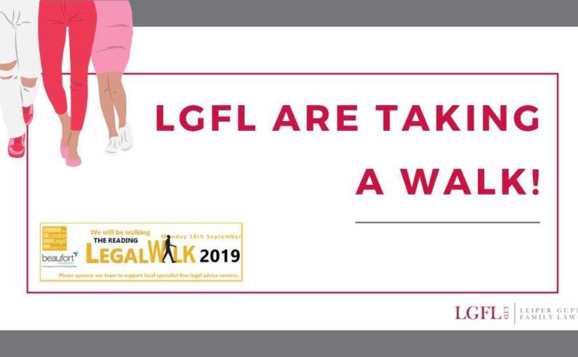 LGFL at Reading Legal Walk