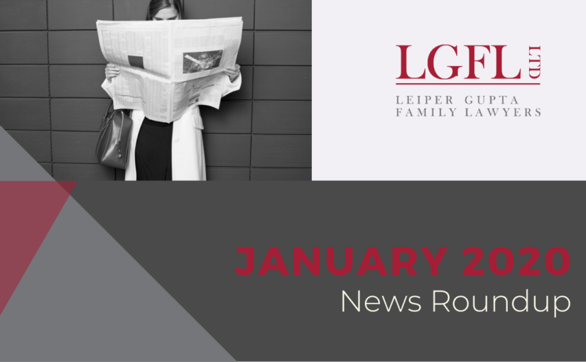 Divorce News items for Jan 2020