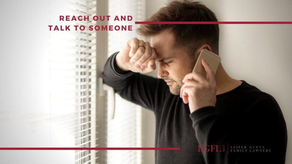 male domestic abuse caller