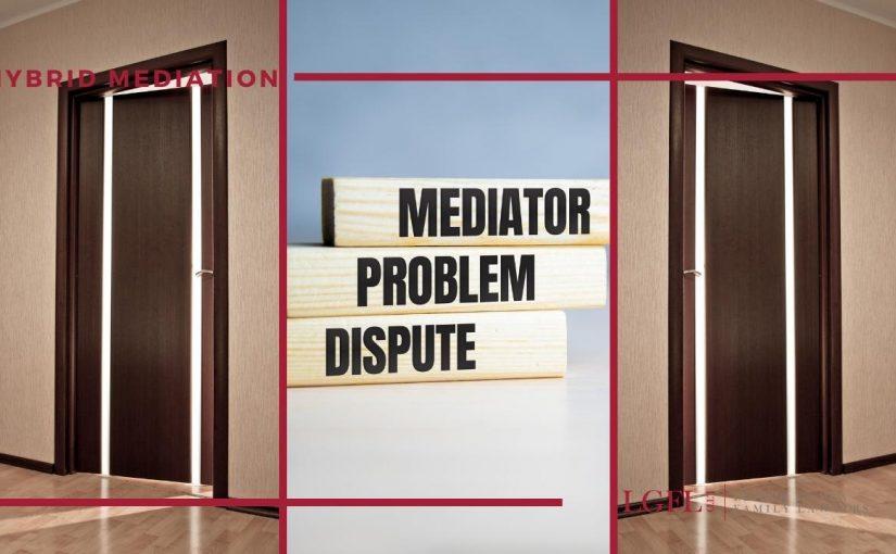 two doors open for hybrid mediation consultation